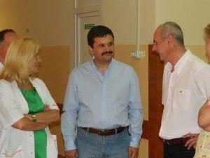 presedintele CJA Nicolae Iotcu in vizita de lucru la spitalul judetean