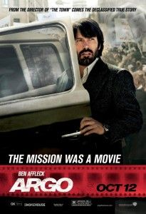 Argo Advance 1 Ben Affleck apy poster