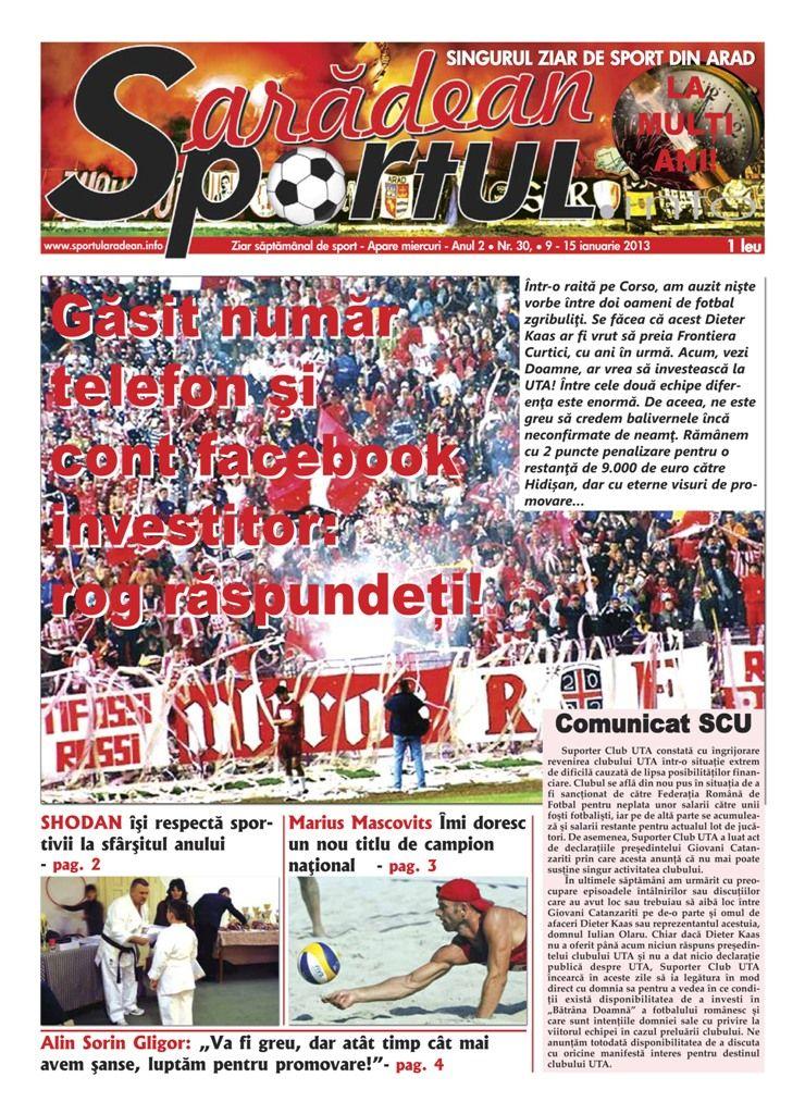 Sportul aradean 30 - 9 - 15 ian 3013-1