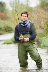 Pantaloni de pescar cu cizme_Crivit outdoor