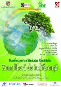 afis Manifest pentru sanatatea pamantului 2014 mic